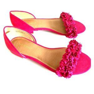 Lane Bryant Open Toe Flower Sandals